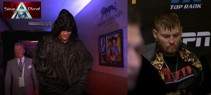 Tyson Fury v Tom Shwarz FULL FIGHT NIGHT Entrance to Final Singing