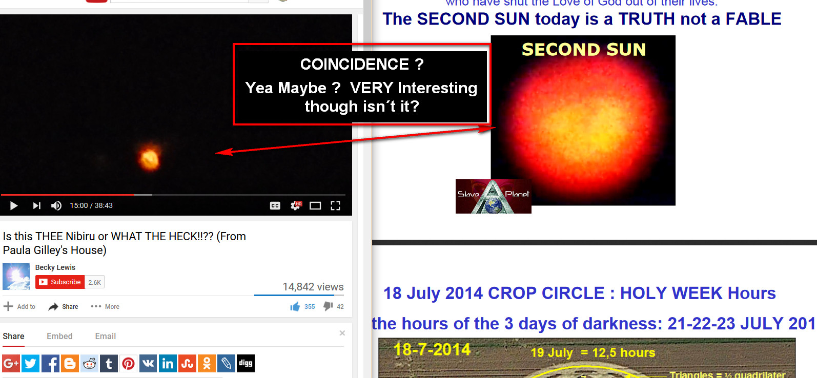NIBIRU PLANET X - July2017 GREATEST Fresh CAPTURE - Investigated MUST WATCH