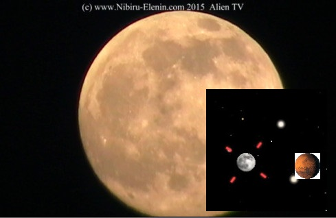 Mystery Planet Saturn or Planet X by Moon & Lunar Wave Energy Wave