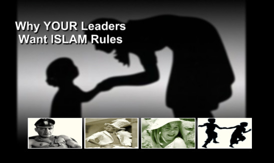 Why YOUR Leaders Push For Muslim Rules FROM THE HORSES MOUTH