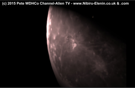 MOON LUNAR WAVE Captures Lunar Thermal wave Moon Holographic Theories